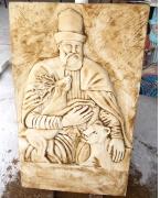 Hacı Bektaşı Veli Rölyefi ve İmalat Çalışması